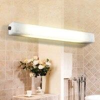 Мраморная лампа модные медное зеркало свет зеркальная лампа для ванной водостойкий с зеркалом изображение бра