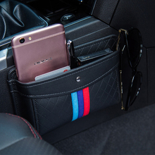 Car Net Organizer  Pouch Pockets Car Storage Box Car gathering Bag For cards  Mobile Phone sticky bag  interior accessories