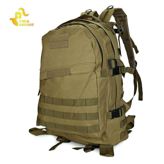 ce0bb006fb47 Free Knight Military Backpack Tactical Bag Molle Rucksack Water Resistant  Sport Bag Men Camping Camouflage Hiking Backpacks