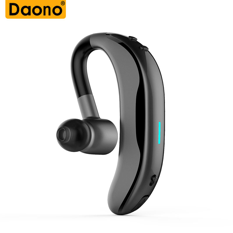 Original Handsfree Business IPX7 Waterproof Bluetooth Headphone With Mic Voice Control Wireless Bluetooth Headset For Phones