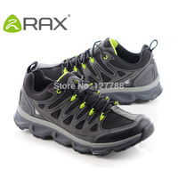 Rax Men's Breathable Hiking Shoes Antiskid Trekking Shoes Comfortable Trend Sneakers For Male Mountain Climbing Trainers D0540