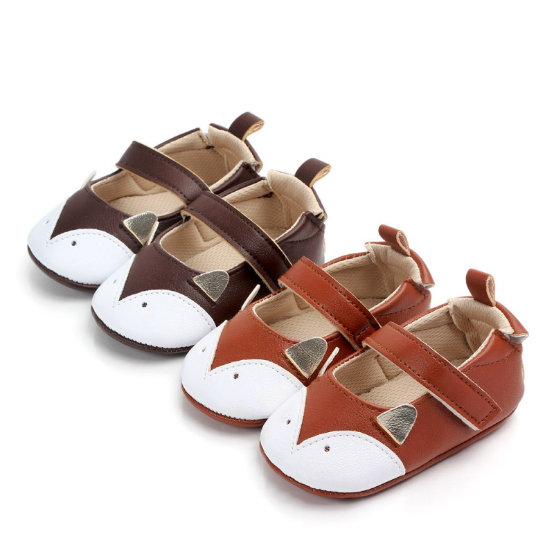 Unisex Baby Shoes Breathable Cartoon Animal Pattern Anti-Slip Shoes Casual Sneakers Toddler Soft Soled First Walkers