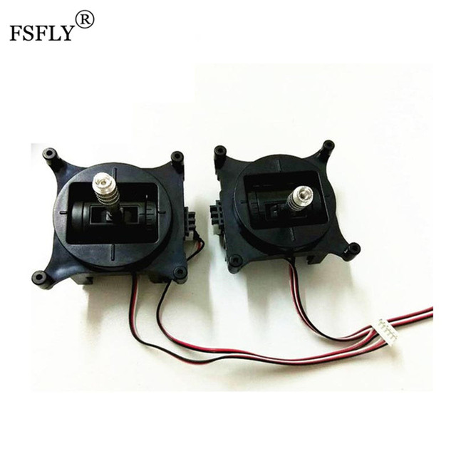 Radio rocker 1 Pair Pair Transmitter Gimbal Assembly suitable for Spektrum DX6i Hpbbyking ORX T-SIX RC Transmitter