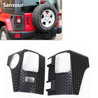 New Arrival OEM Factory Rear Corner Guard Body Armor Covers Exterior Trims For Jeep Wrangler 4-Door 07 up