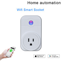 SW1 10A Wifi Wireless Switch US plug socket english home Automation Remote Control support iPhone Android Smartphones APP
