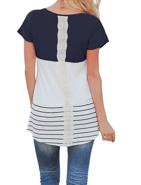 e622a77c20 2018 new Women stripes Pregnancy Clothes Maternity Clothing Breastfeeding  Tee Nursing Tops Striped Short Sleeve T-shirt