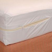 180X200cm Smooth Allerzip Waterproof Mattress Encasement Cover With Zipper Box Spring For Bed Bug Fit For16 Mattress