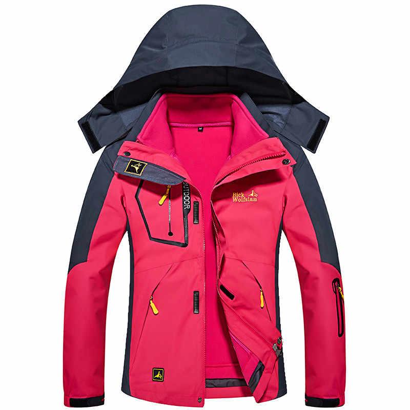 Winter Ski Jackets Women Waterproof Breathable 3 in 1 Snow Jacket Thermal Coat Outdoor Mountain Skiing Snowboard Jacket