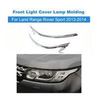 New Design Auto Front Light Cover Lamp Molding Strip Trims Fit Voor Land Range Rover Sport 2013-2014