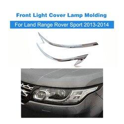 Nowy projekt Auto przednie światło samochodu pokrywa lampy listwa wykończenia nadające się do Land Range Rover Sport 2013-2014