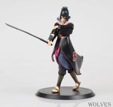 Naruto Shippuden Uchiha Sasuke Action Figures Anime PVC brinquedos Collection Figures toys for Christmas gifts with Retail box