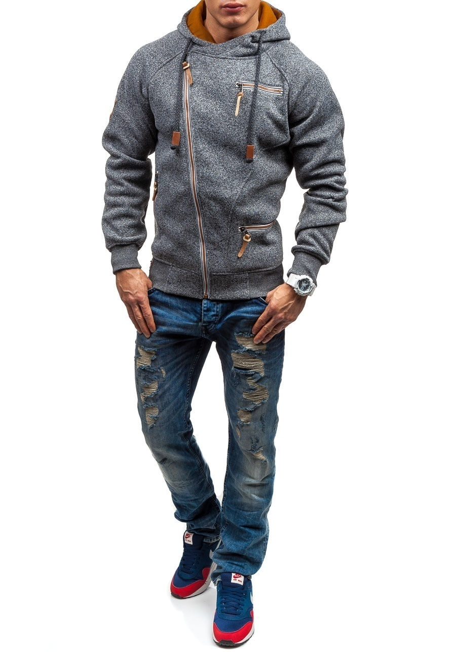 HTB1AmCFXOzxK1RkSnaVq6xn9VXaB - Men Hoodies Sweatshirt 2019 Spring New Unique Diagonal Zipper Fashion Simple Loose Casual Hooded Streetwear Men Tracksuits Coat