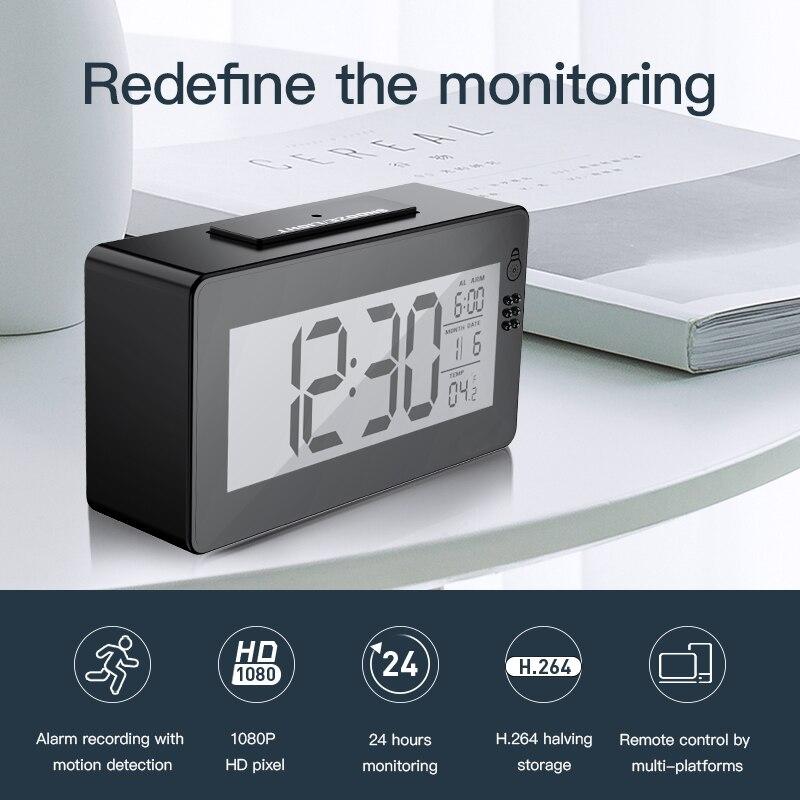 Meisort DZ30 часы Беспроводной P2P Wi-Fi IP Камера 1080 P 140 градусов Инфракрасный Ночное видение видео Камеры Скрытого видеонаблюдения CCTV Камера s