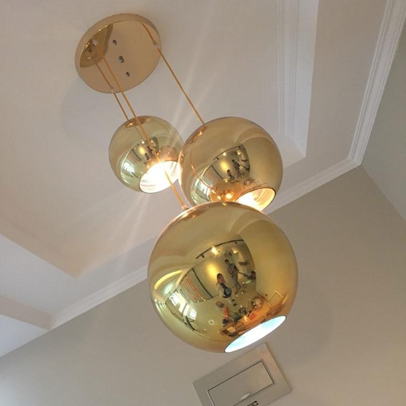 sala de jantar circulo pingente lampada moderna pingente 04