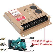 Электронный регулятор скорости двигателя Регулятор блока управления для ESD5111 дизельный генератор генераторной установки запчасти Инструкция на английском языке