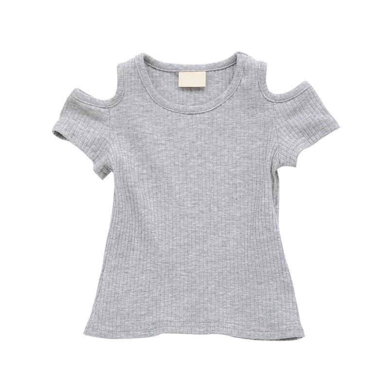 6b912af5dc16 WEIXINBU Baby Girls Summer T Shirt Girl Cute Cotton Short-sleeved T-shirt  Girl s T Shirts Off-shoulder tops newborn Clothing