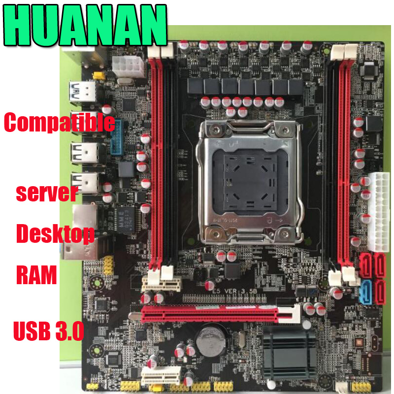 HUANAN X79 E5 3.5B LGA 2011  DDR3 PC Desktops  Motherboards Computer Computer Motherboards Suitable for server  ECC  ECC REG RAM server memory for x3850 x3950 x5 16g 16gb ddr3 1333mhz ecc reg one year warranty