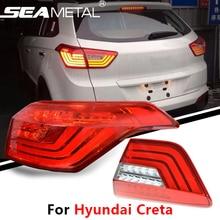 Auto Rücklicht Für Hyundai Creta IX25 2015 2016 2017 Auto 12 V Rückleuchten Assembly Blinker Umge Lampe Kit Leuchtet Hinten