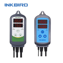 Combo Digital Humidity Controller IHC 200&Heating Cooling Temperature Controller ITC 308 Cooking Thermometer for Grill Oven Part