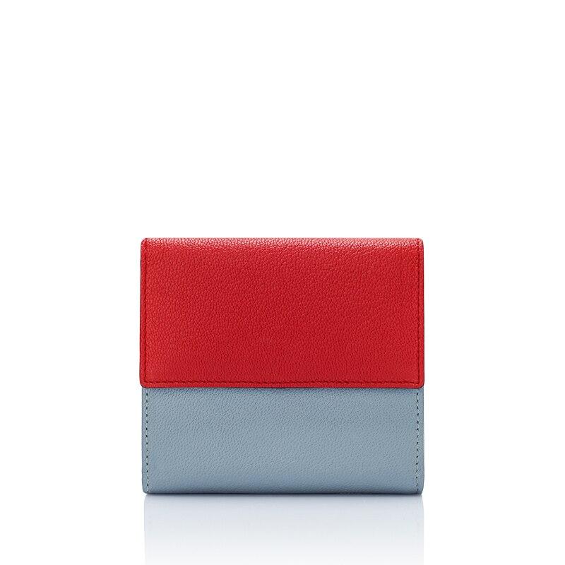 carteira de pele de carneiro Interior : Coin Pocket, note Compartment, suporte de Cartão