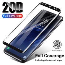 20D Full Curved Protective Glass For Samsung Galaxy S8 S9 Plus Note 8 9 S7 Tempered Screen Protector A8 A6 2018 Film
