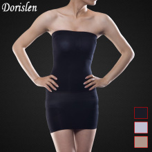 50a4a5c3a0 DORISLEN 300pcs Lot Women Slimming Body Magic Skirt Shapewear Boob Tube Slip