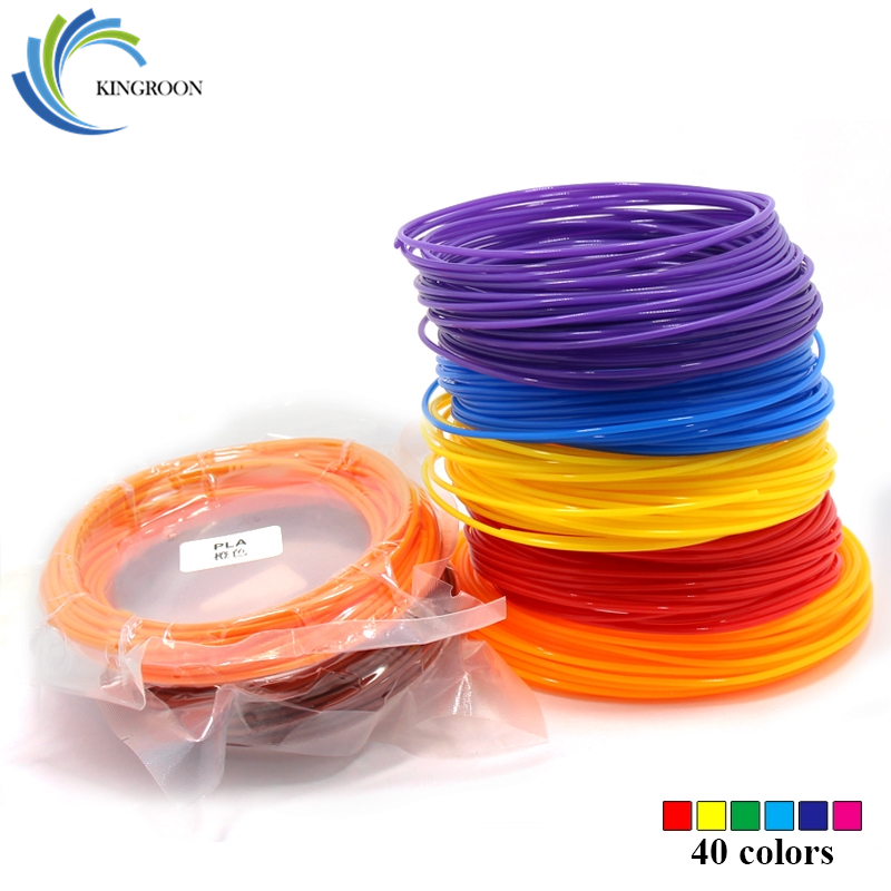10 Meter PLA 1.75mm Filament Printing Materials Plastic For 3D Printer Extruder Pen Accessories Black White Red Colorful Rainbow pla 1 75mm filament 1kg printing materials colorful for 3d printer extruder pen rainbow plastic accessories black white red gray