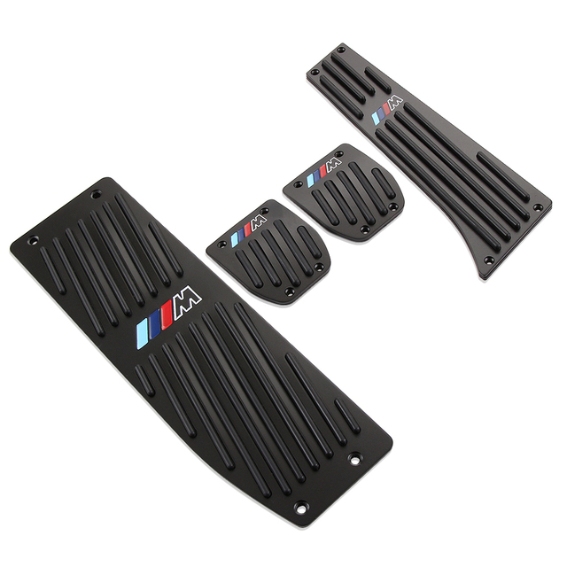 Quality Picks Car Accessory Aluminium Alloy AT/MT Foot Pedals Rest For BMW E30 E36 E39 E46 E87 E90 E91 E92 E93 Hot