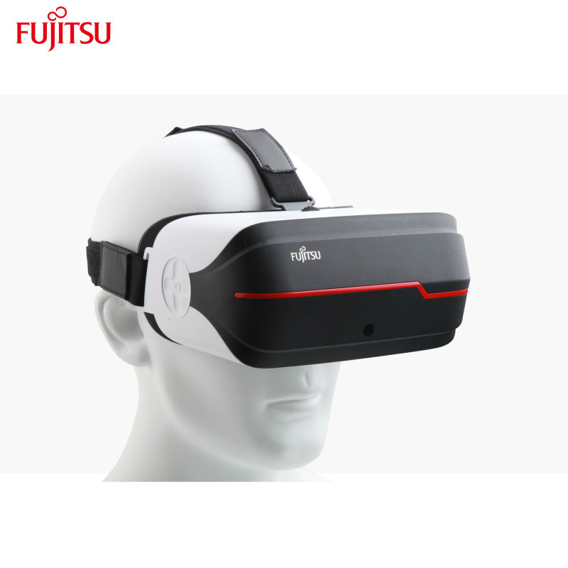Fujitsu 3D dlp Glasses Reality Virtual All in One for 360 Degree Panoramic 2D 3D Video and Game