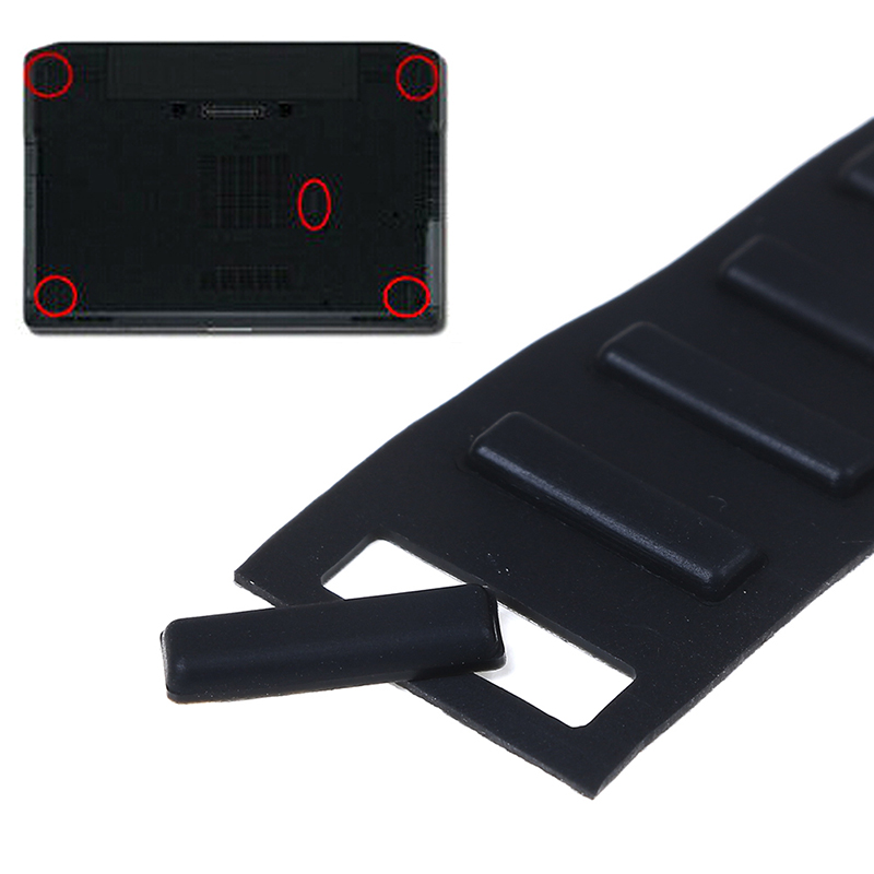 5pcs Rubber Feet Foot For Dell Latitude E6420 E6430 E6220 E6330 E6320 Bottom Cover