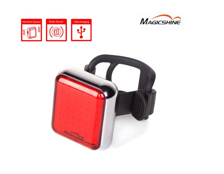 Magicshine Bike safety Light Led Rear Bicycle Light Flashlight For Bike USB Rechargeable Taillight Waterproof Cycling