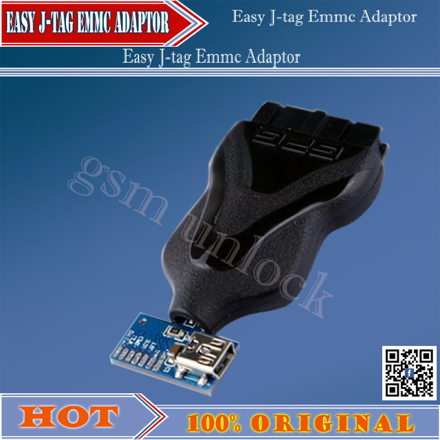 100%original 2016 new Emmc  Jtag Pro 3 in 1 Adaptor by GPG