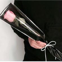 50 шт. большой размер одиночная Роза цветок упаковка букета бумага флорист поставки подарочная оберточная бумага ручной работы материал декор
