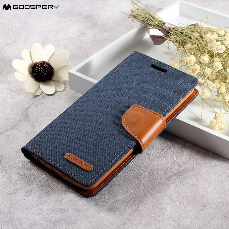 MERCURY GOOSPERY Wallet Case for LG G 3 Leather Bag Canvas PU Leather Card Holder Cover for LG G3 Case for LG D850 D855 LS990