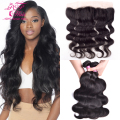 8A Ear To Ear Lace Frontal Closure With Bundles,Brazilian Virgin Hair With Closure,Brazilian Hair Weave Bundles With Closure