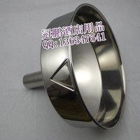 Stainless steel Large funnel metal wine funnel fuel big funnel milk powder funnel belt filter
