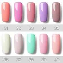 ROSALIND 7ML 58 Pure Colors Gel Varnish Gel Nail Polish Nail Gel Polish Art Vernis Permanent UV Soak-Off Nail Gel Manicure