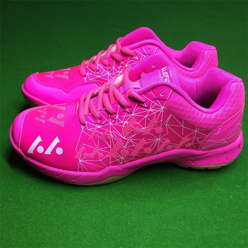 2019 Hot Sale Badminton Shoes Men Women Trainers Anti-Slippery Breathable Sport Shoes For Unisex Wear Resistant Training Sneaker