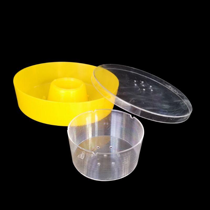 Bee Feeder Plastic Rapid Bee Water Feeder Round Hive Top Beekeeping Supplies