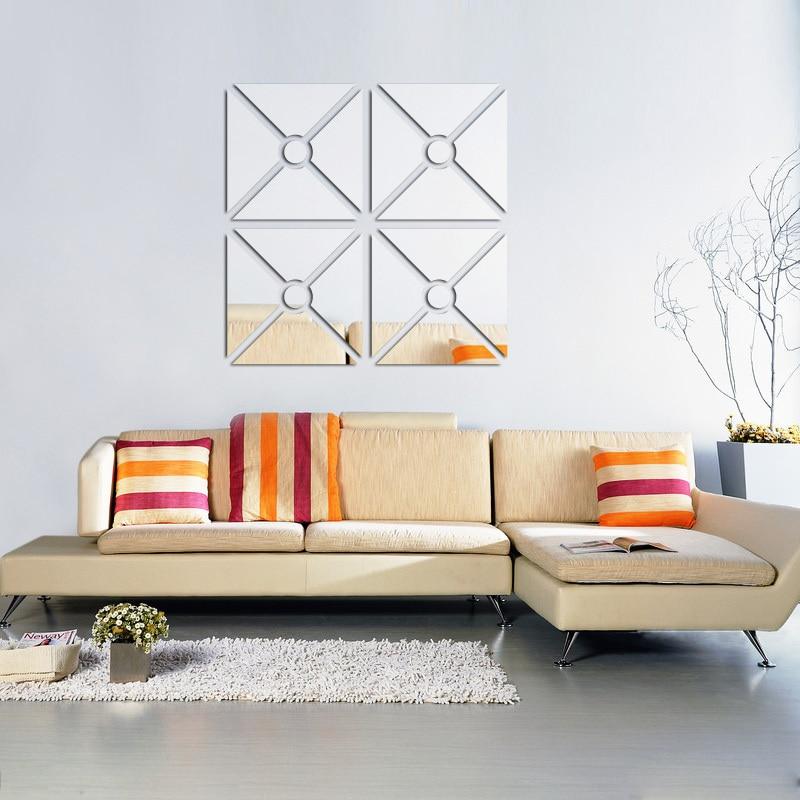 Novo Para Adesivos de Parede Home Decor Sticker Moderno Acrílico 3d - Decoração de casa