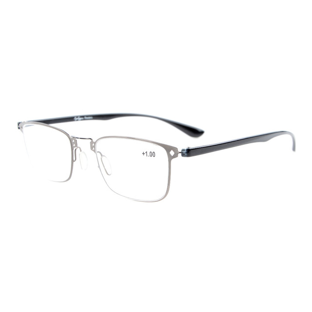 17fe51abe3d R12617 Eyekepper Lightweight Flex Unique Reading Glasses Stylish Look Crystal  Clear Vision +0.50----+4.00