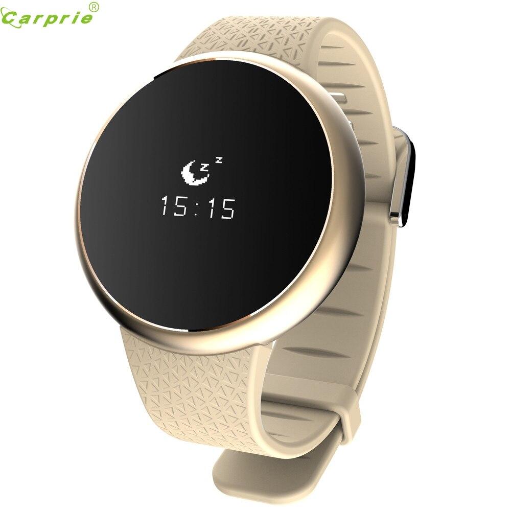 Meilleur prix horloge Bluetooth montres intelligentes bracelet de santé Sport Fitness Tracker sommeil moniteur bande smartwatch pour téléphone