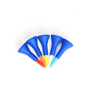 Image 3 - 5 個 83/70/42 ミリメートルプロフェッショナルマルチ色のプラスチックゴルフティーステップアッププラスチックゴルフホーンのティー進化 Tシャツゴルフツールアクセサリー