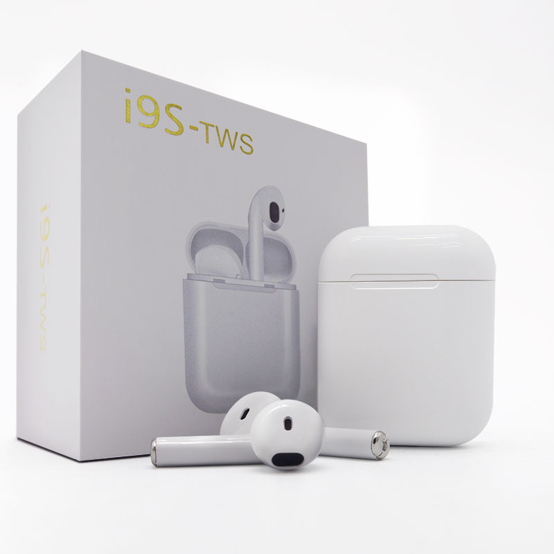 2018 IFANS i9s tws Twins Earbuds Mini Wireless Bluetooth Earphones Air Pod Headsets Stereo Earbuds Wireless For IPhone Android