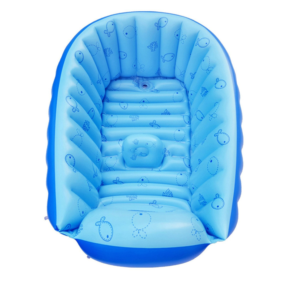 Top Infant Baby Newborn Inflatable Bath Tub Freestanding Shower Seat ...