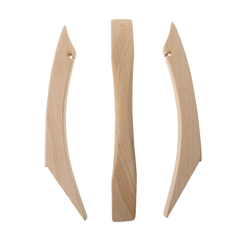 1 Set Archery Bow Handle Limbs Wood Hardwood Traditional Recurve Bow Compound Bow DIY Bow Outdoor Hunting Shooting Accessories