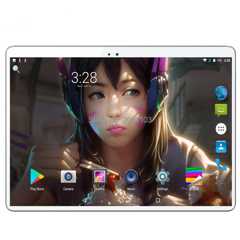2019 New 10 Inch 4G LTE Tablet PC Octa Core 6GB RAM 64GB ROM 1280*800 IPS 2.5D Tempered Glass 10.1 Tablets Android 9.0