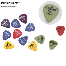Alice AP-100T 100Pcs/Set  Professional High Quality Delrin Acoustic Electric Guitar Guitar Picks Plectra