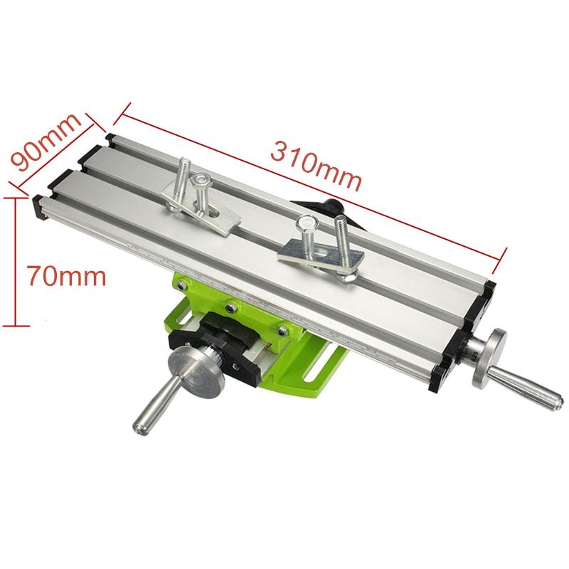 torno fixação worktable ajuste para mini broca e broca suporte