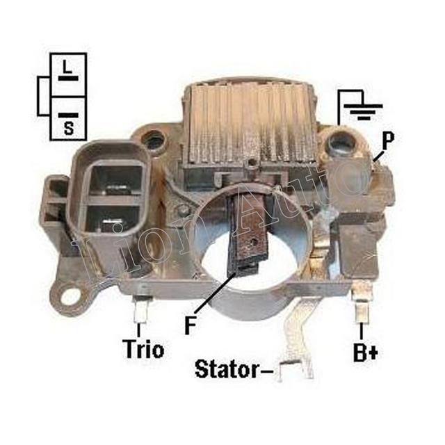 León Nuevo Regulador Del Alternador Portaescobillas Para Mazda b2200 929 Mpv 2.2 2.6 3.0l Im829 Ta500c01801